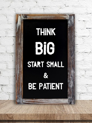 Image result for start small